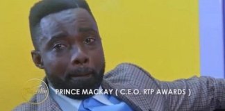 Video: CEO of RTP awards, Prince Mackay cries on Stacy's Restoration Show - Very sad reason