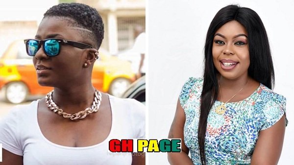 Afia Schwarzenegger reacts to claims that she influenced Ahuofe Patri into smoking wee