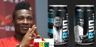 Asamoah Gyan Starts Another Business As He Launches Energy Drink