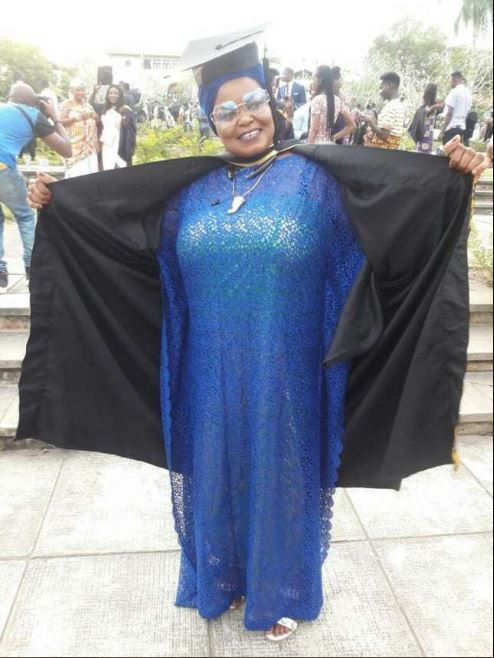 Auntie Bee Of 'Efiewura' Fame Graduates From Legon