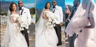Photos: Banky W and Adesua Etomi Wedding in South Africa