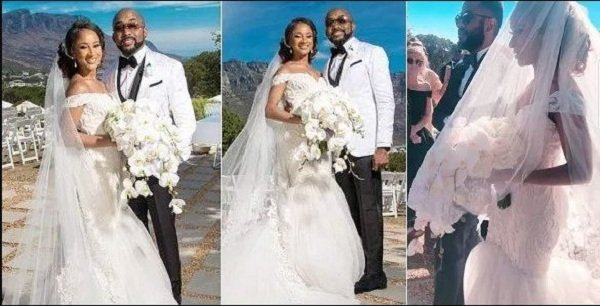 Photos: Banky W and Adesua Etomi Wedding in South Africa