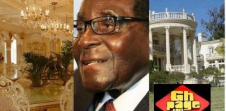 See 9 Beautiful Photos Of Former President Mugabe's 25 Bedroom Mansion In Harare
