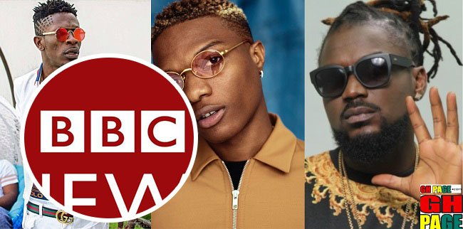 This is how BBC reported on the 'Shatta Wale Wizkid Beef'