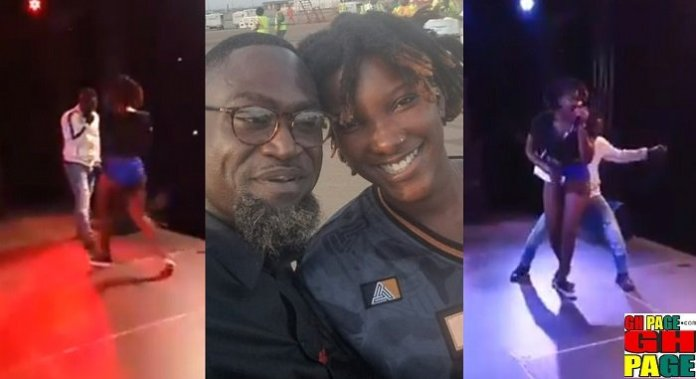 Countryman Songo and Ebony Reigns Fired it up on stage at the Mamba Bash (Video