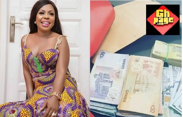 Afia Schwarzenegger Parades Cash Of Different Currencies Over Her New Deal With NKZ