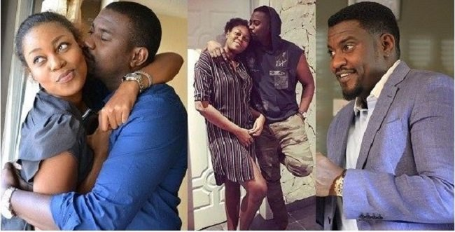 John Dumelo Reacted To His Follower Who Said He Can't Marry Yvonne Nelson Because He Has A Wife