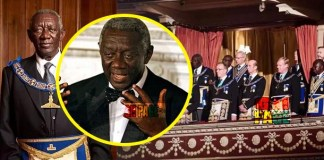 Former president Kufuor shed more light on Freemasonry; Says it's more of a charity work