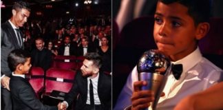 Cristiano Ronaldo Jr Posts Unbelievable Message To Lionel Messi