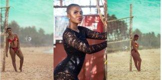 Photos: Ahuofe Patri Puts Her Banging Body On Display In Bikini