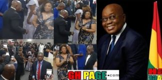 Prez Akufo-Addo Shows His Dancing Skills At George Weah's Inauguration In Liberia