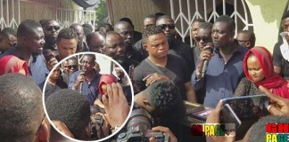 Bill Asamoah heart touching tribute to Maame Serwaa's mother ( Video)