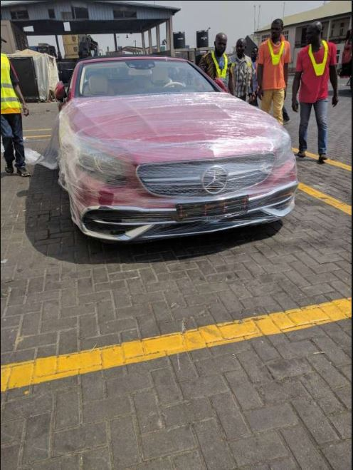 Take A Good Look Into Dr. Osei Kwame Despite's New 2018 Mercedes-Maybach S 650(PHOTOS)