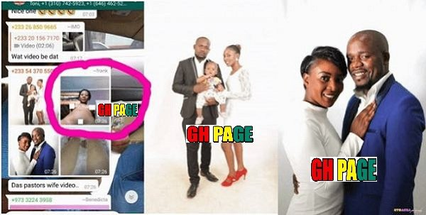 Meet The Ghanaian Pastor Whose Wife Mistakenly Sent Her Nu-de S£X Video Into A Whatsapp Group