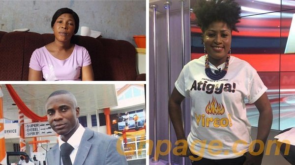 Video: A woman has accused gospel musician, Patience Nyarko of snatching her husband