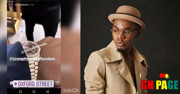 Patoranking Follows Wizkid As He Shows Off His Own N21 Million