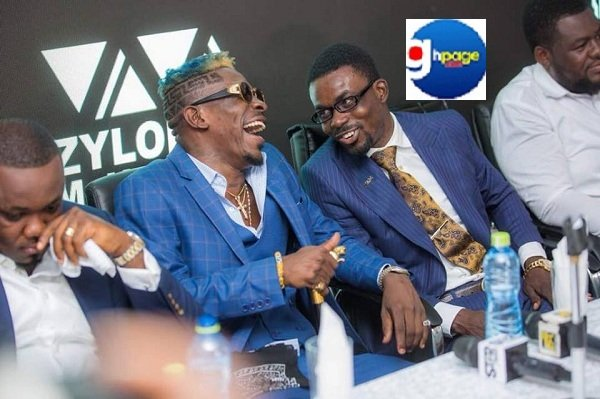 Shatta Wale explains how he met Nana Appiah Mensah & why he joined Zylofon [+Photos]