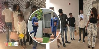 Stephen Appiah Flaunts his Wife and Kids (Photos)