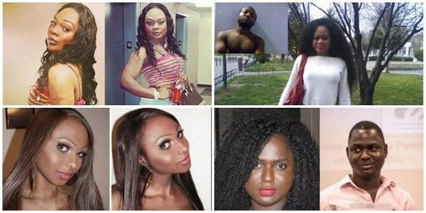 4 Nigerian men who transformed into women after surgery (Transgender) – See before & after photos