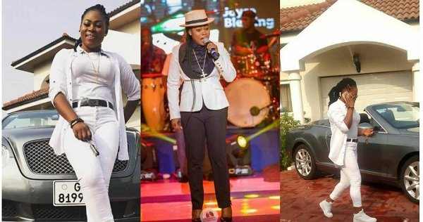 Joyce Blessing Finally Steps Out Illuminating In All White