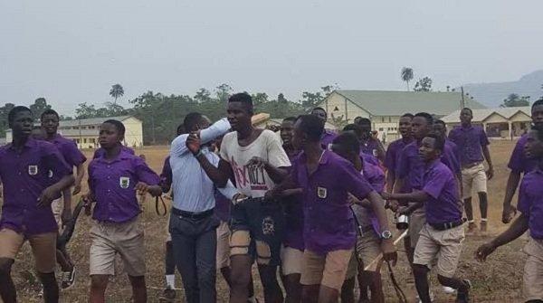 Man arrested for taking nu-de images of SHS girl students bathing
