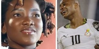 Football Star Dede Ayew Pay Emotional Tribute To Ebony Reigns