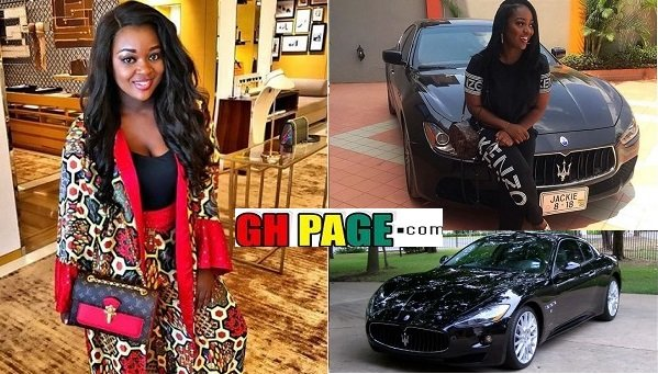PHOTO: Jackie Appiah Got Us Envying With Her 'New Release' Of 2018; Customized Maserati