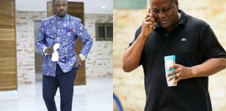 """Video: """"Mahama will win 2020 elections"""" -The pastor who predicted Ebony's death, Prophet Nigel says"""