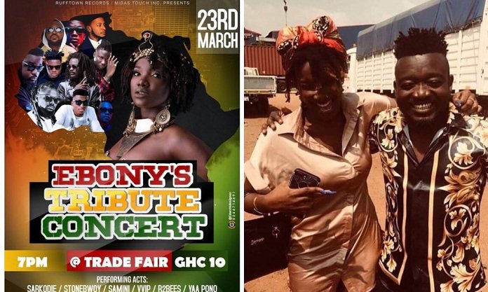 Some artists are asking me to pay them before they perform at Ebony's tribute concert-Ebony's manager