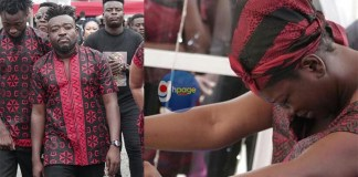 Exclusive photos from Ebony's funeral