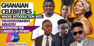"""10 Ghanaian celebs whose introduction into the entertainment industry """"destroyed"""" the careers of others"""