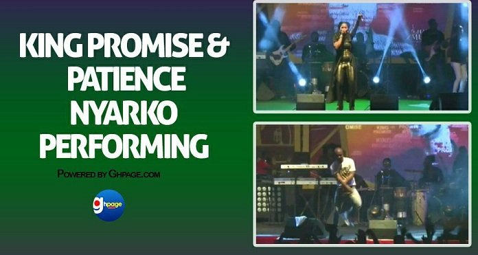 Video: Patience Nyarko and King Promise Shine At 2018 VGMA Nominees Jam