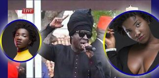 Kojo Antwi wiped the tears of mourners at Ebony Reigns funeral with an amazing performance (Video)