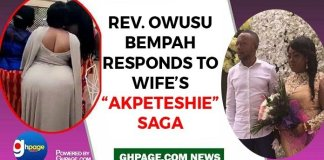 Audio: Owusu Bempah responds to wife's 'Akpeteshie Drinking Saga'