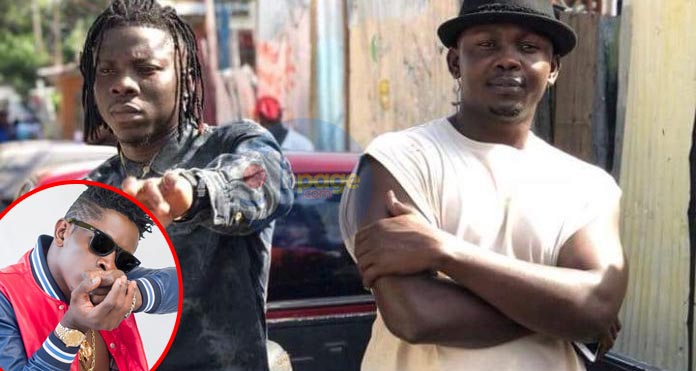 Hot Beef: Stonebwoy's manager jabs Shatta Wale over his social media rants