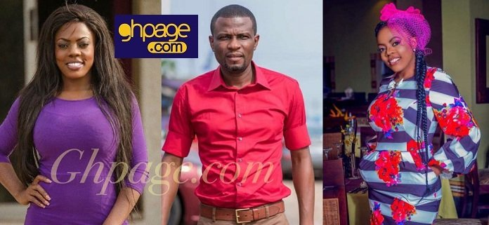 Nana Aba Anamoah 'Punches' Mark Okraku Mantey In A Tweet And Social Media Is On Fire