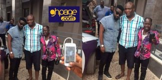 Photos: Sarkodie Spotted With Amakye Dede After Surviving Car Accident