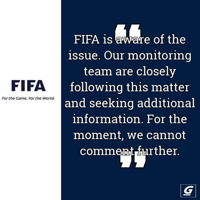 We're monitoring closely and seeking additional information -FIFA on Kwesi Nyantakyi's Arrest