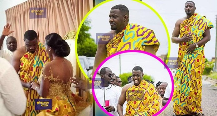 This Is The Moment When John Dumelo Said I Do To Gifty Mawunya
