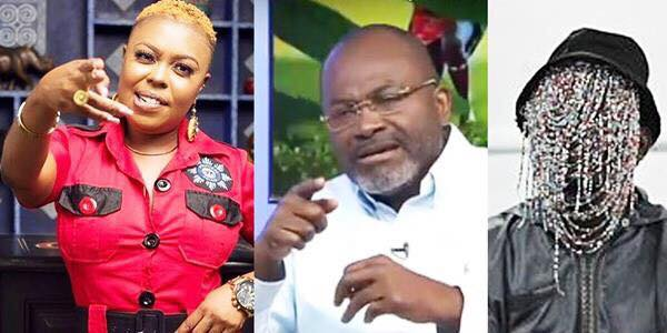 Afia Schwarzenegger replies Kennedy Agyapong on 'Ken-Anas showdown'