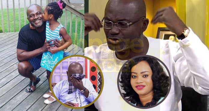 Video: 'Our 6year old daughter keeps asking ,where's mummy' - Ken Agyapong in a sorrowful reaction to Tracy's death
