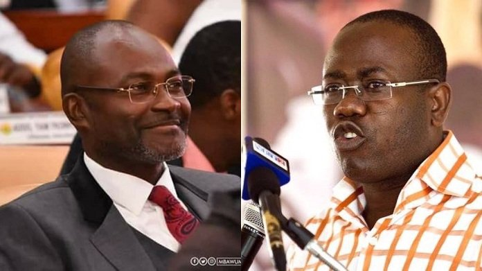 Update:Kwesi Nyantakyi makes wild allegation -Mentions Kennedy Agyapong as his accomplice
