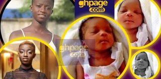 Rashida Black Beauty Gives Birth To A Pretty Bouncing Baby Girl [See Photos]