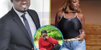 Abena Moet and Abeiku Santana engage in a fight over Fella Makafui