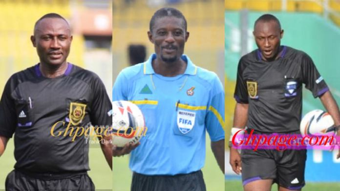 Names of 15 Ghanaian referees Captured In The Anas Video Taking GH¢100 bribes