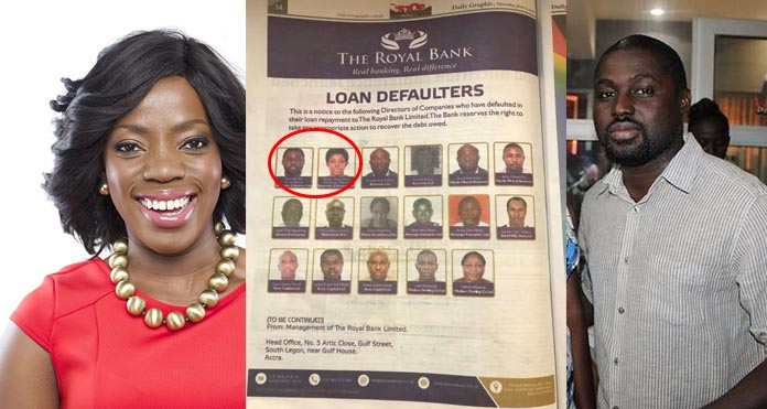 Popular Ghanaian Movie Director And Husband, Publicly Disgraced For Defaulting A Bank Loan