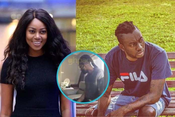 Pappy Kojo visits Yvonne Nelson and baby Ryn