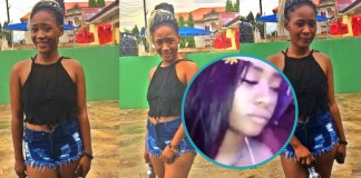 Video showing Candy sleeping in nightclub surfaces