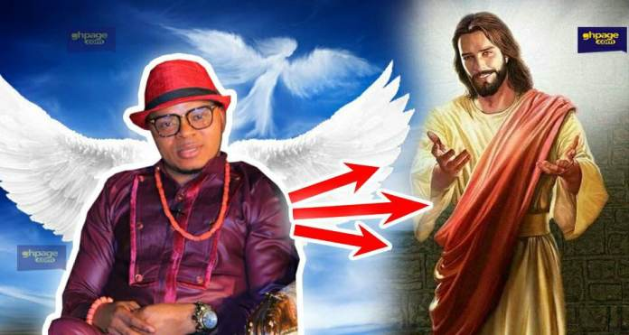 Daniel Bishop Obinim angel 'Jesus Christ'
