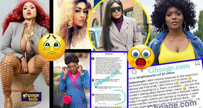 Hypcocrite, you dated a married men before you married - Actress shades A Plus' wife
